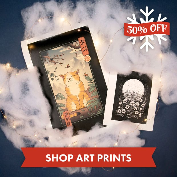 Save big on Art Prints with our Black Friday sale at Threadless!