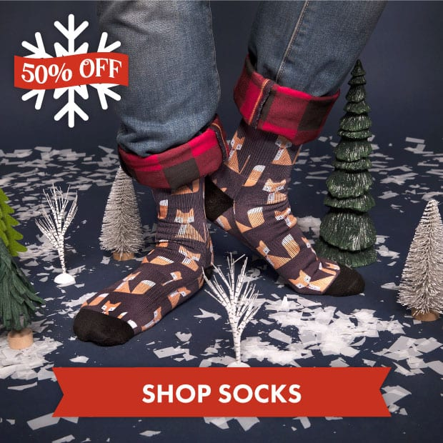 Save big on Socks with our Black Friday sale at Threadless!
