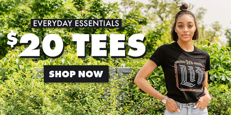 Shop $20 Tees on Threadless