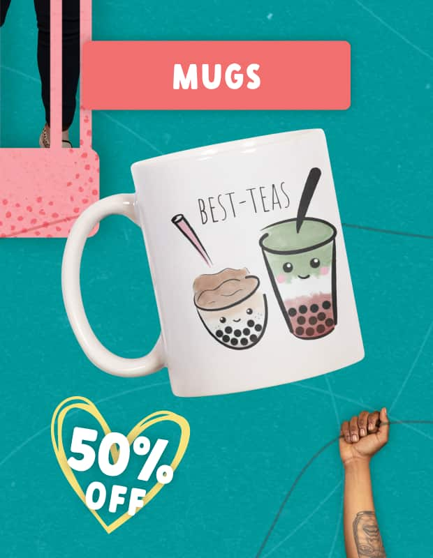 Up to 50% Off Everything for Valentine's Day!