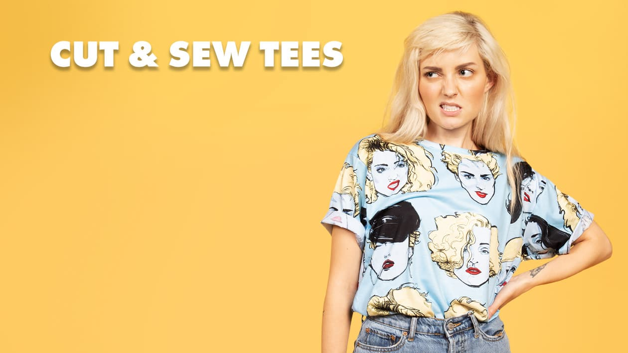 Shop Women's Cut & Sew Tees on Threadless