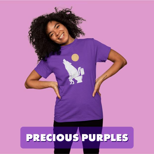 precious purples