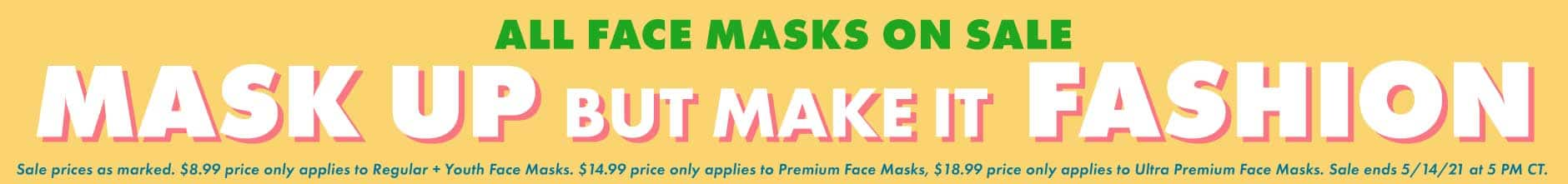 All Face Masks on Sale