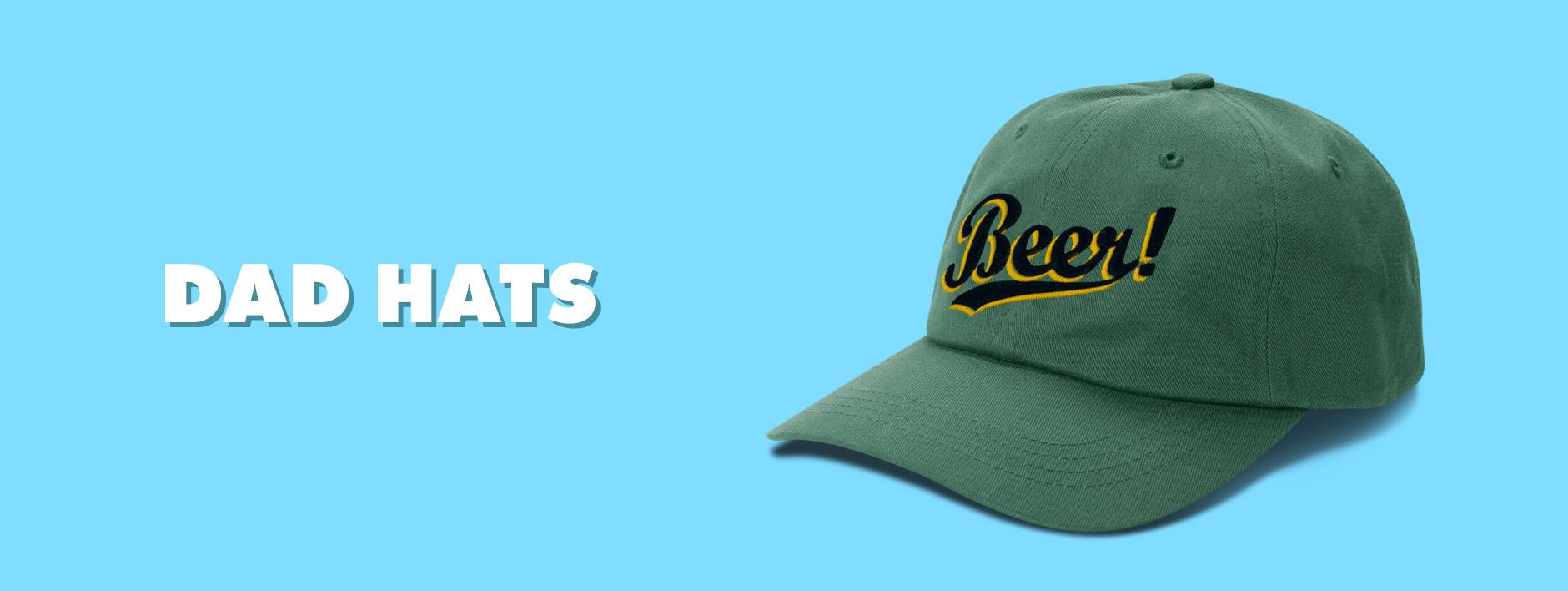 Shop Dad Hats on Threadless