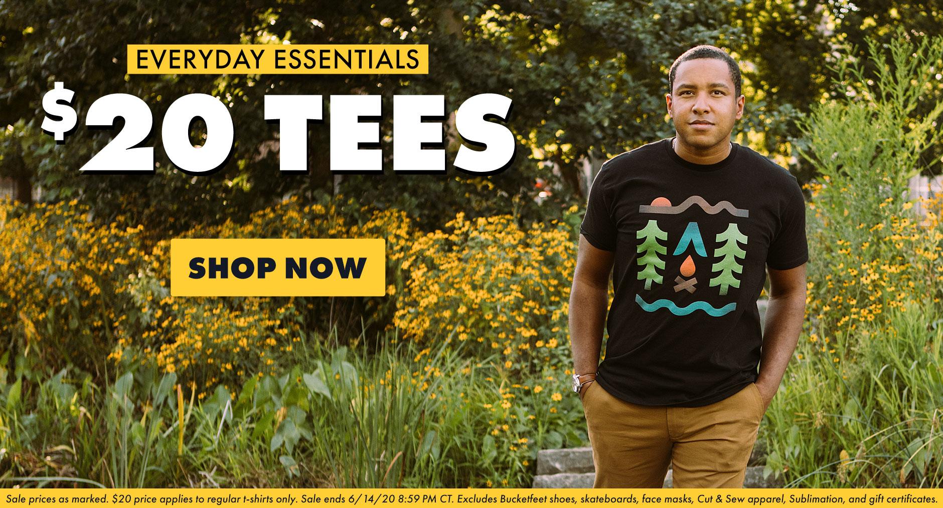 Shop $20 Tees on Threadless