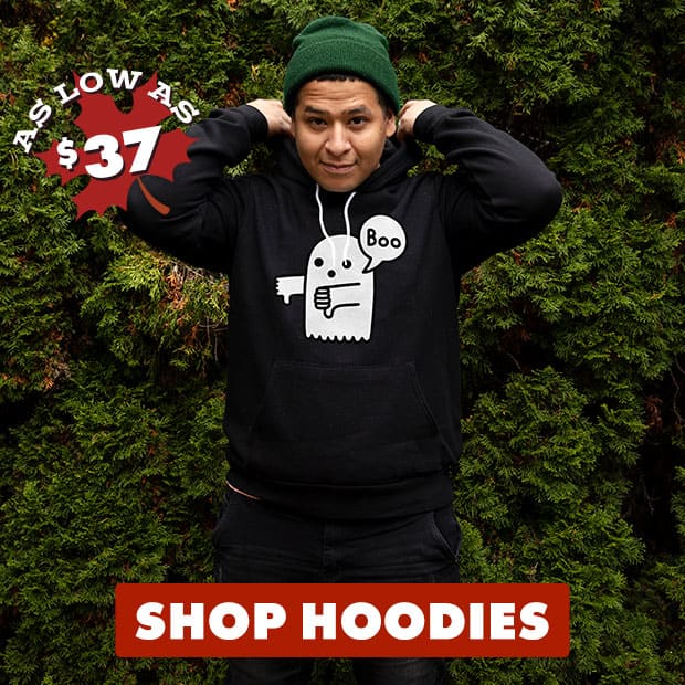 Shop Pullover Hoodies on Threadless