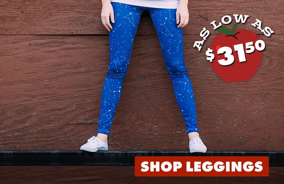 Shop Leggings on Threadless