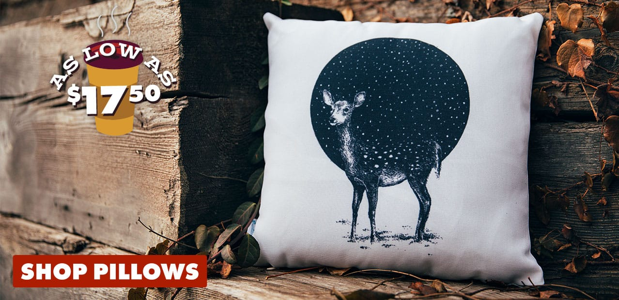 Shop Pillows on Threadless