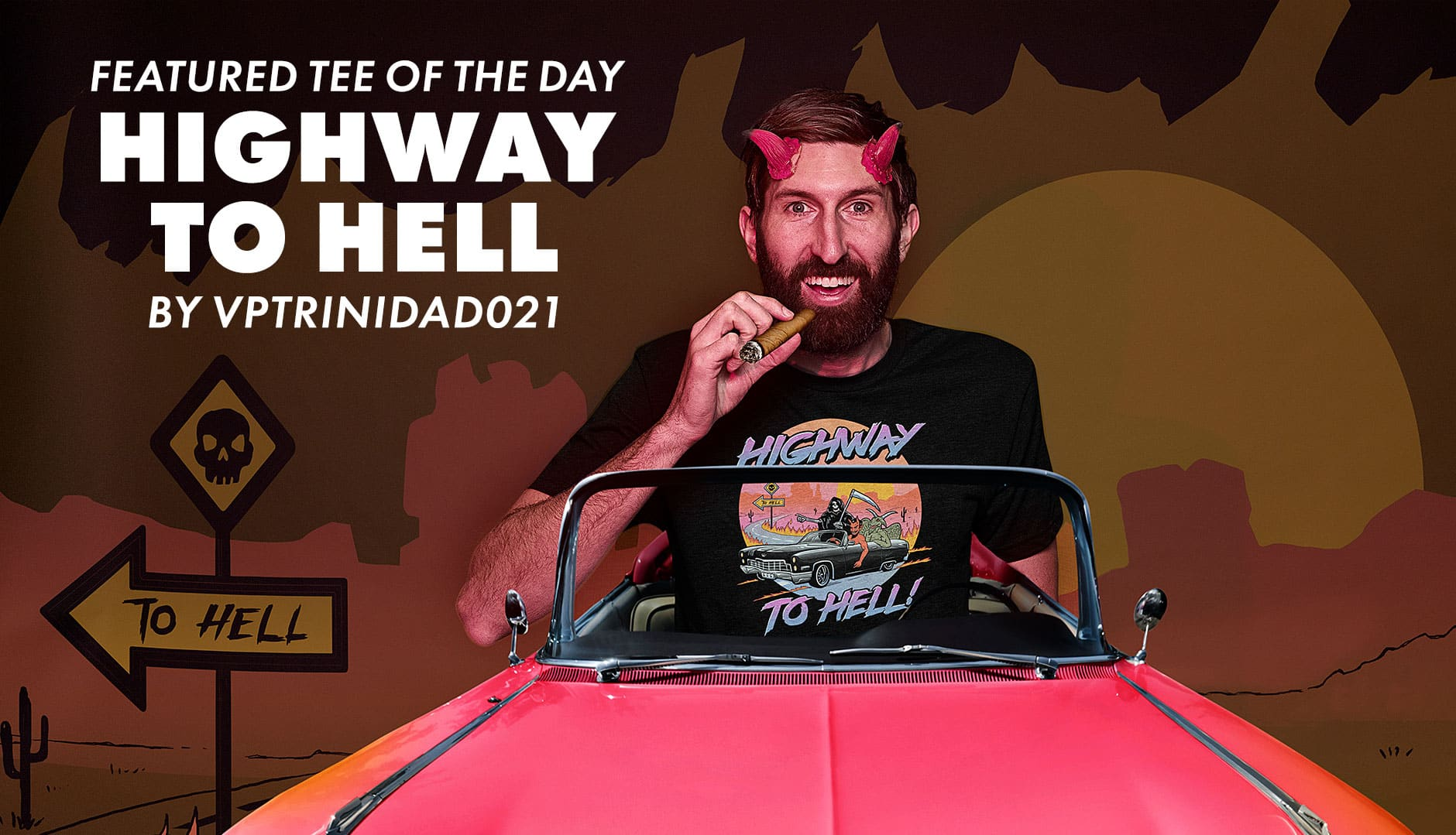 "Shop ""Highway to Hell"" by VPTRINIDAD021 on Threadless"