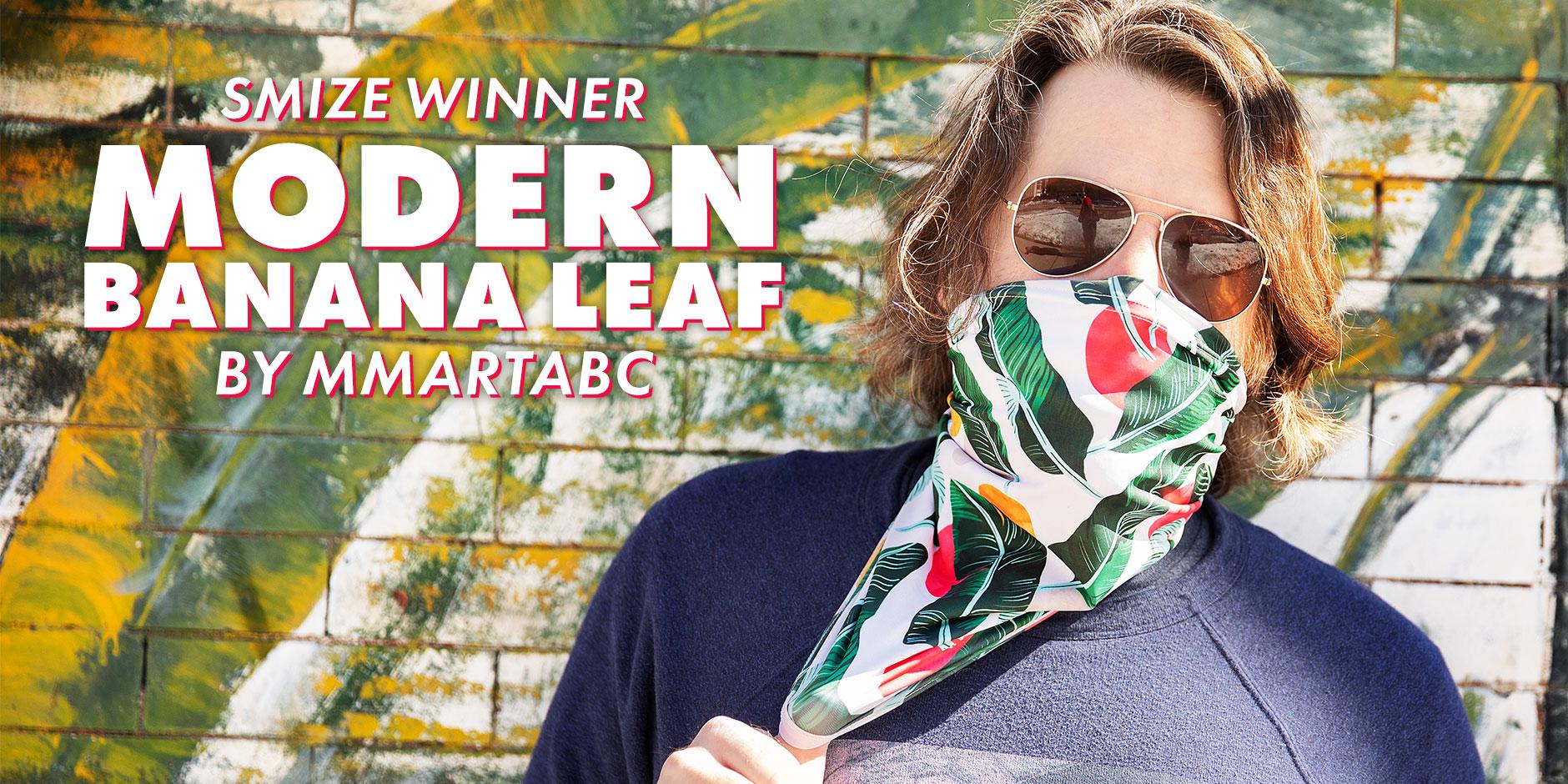 Featured Design: Modern Banana Leaf by mmartabc