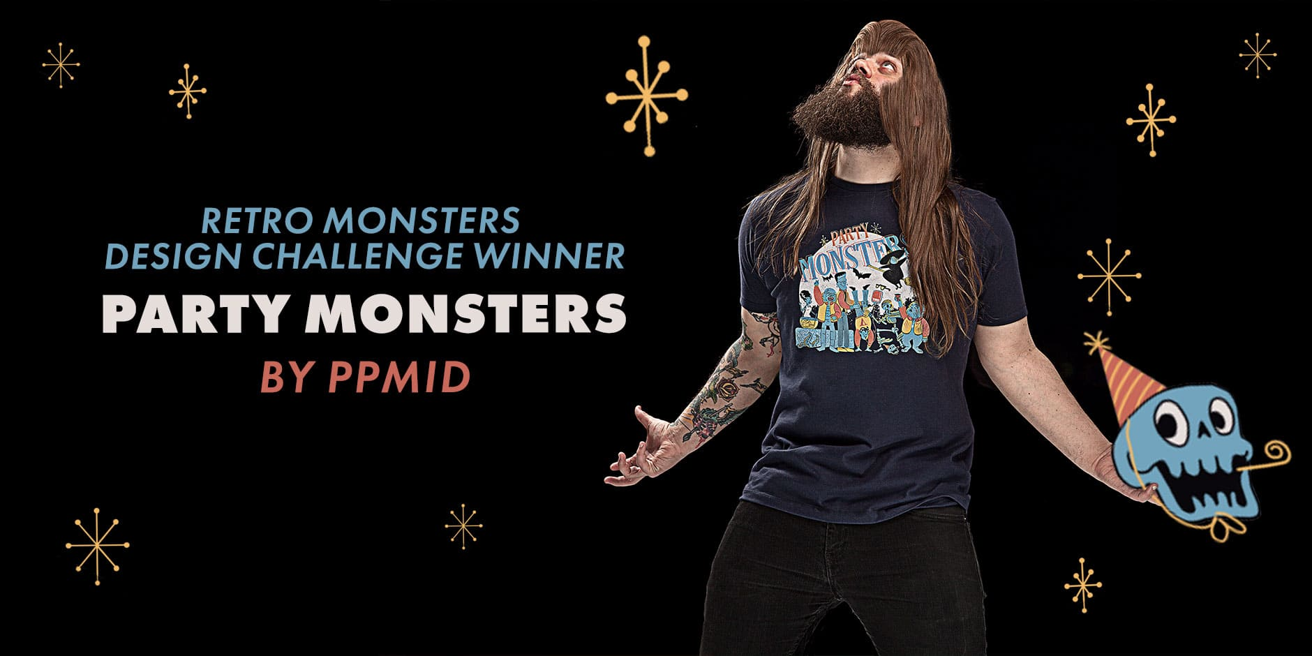 Featured Design: Party Monsters by PPMID