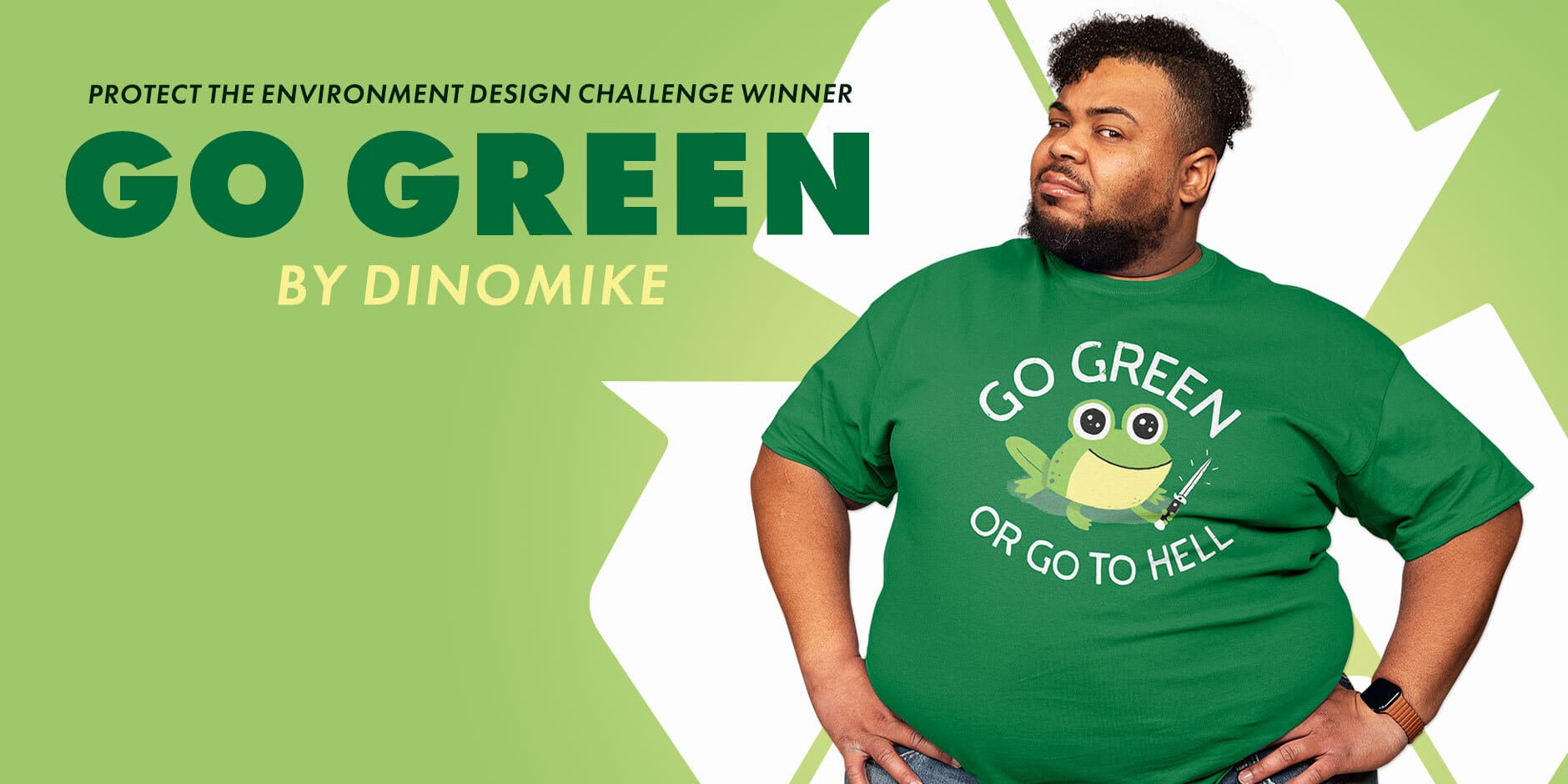Featured Design: Go Green by DinoMike