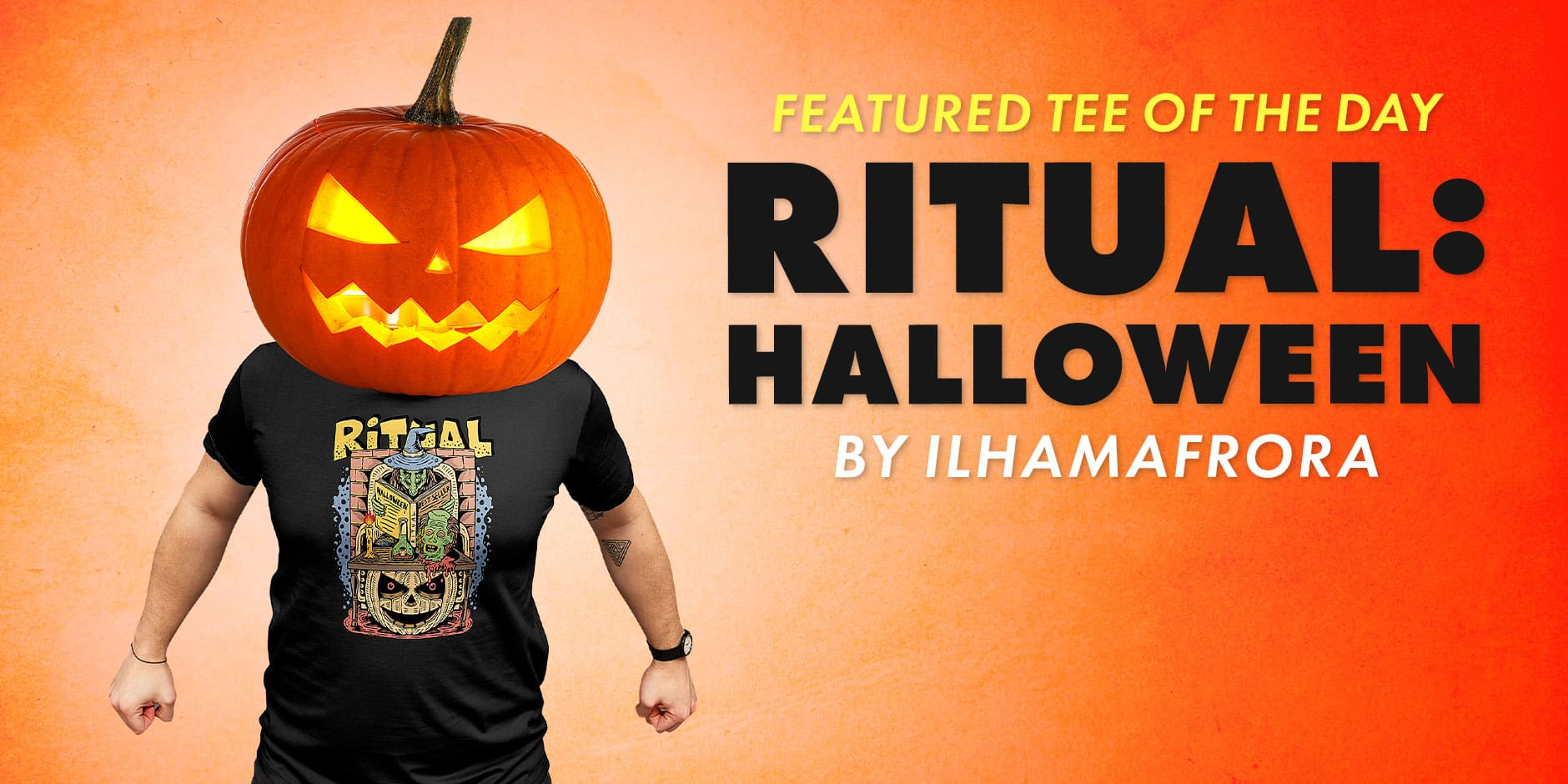 Featured Design: Ritual Halloween by ilhamafrora