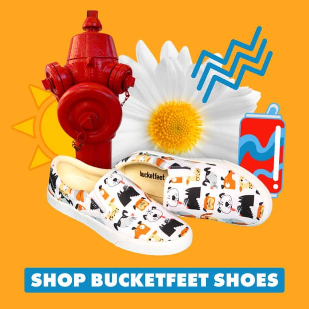 Shop 20% off Bucketfeet