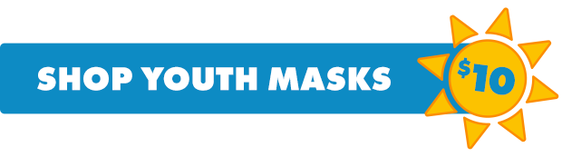 Shop Youth Face Masks