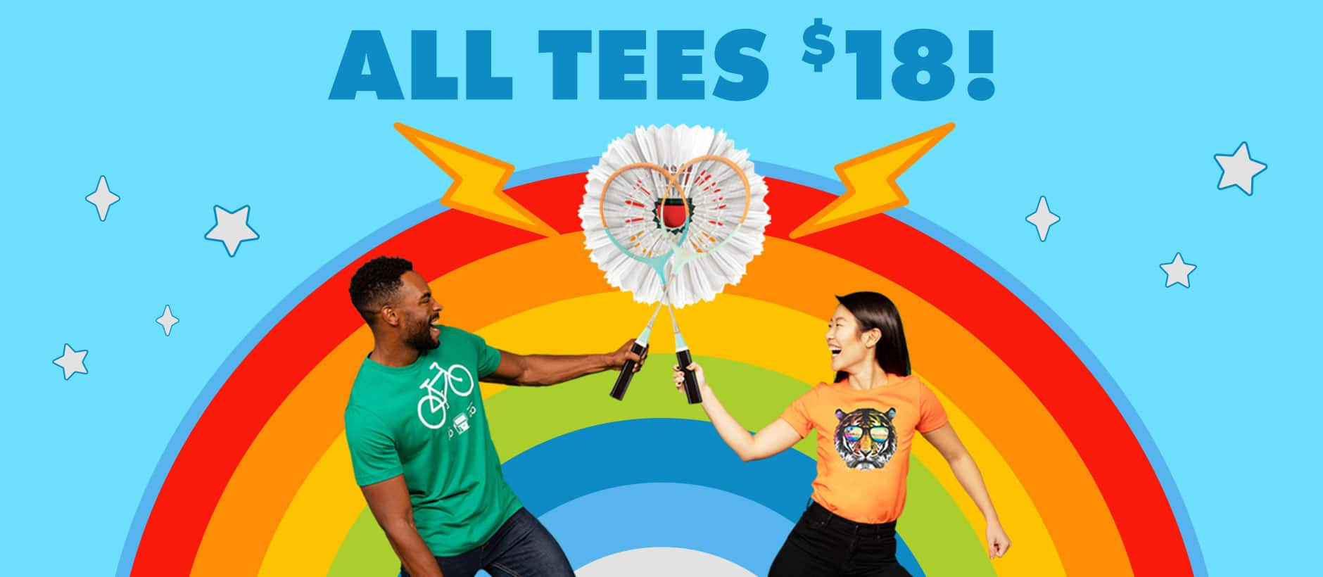 Summer Sale! Shop $18 Tees on Threadless
