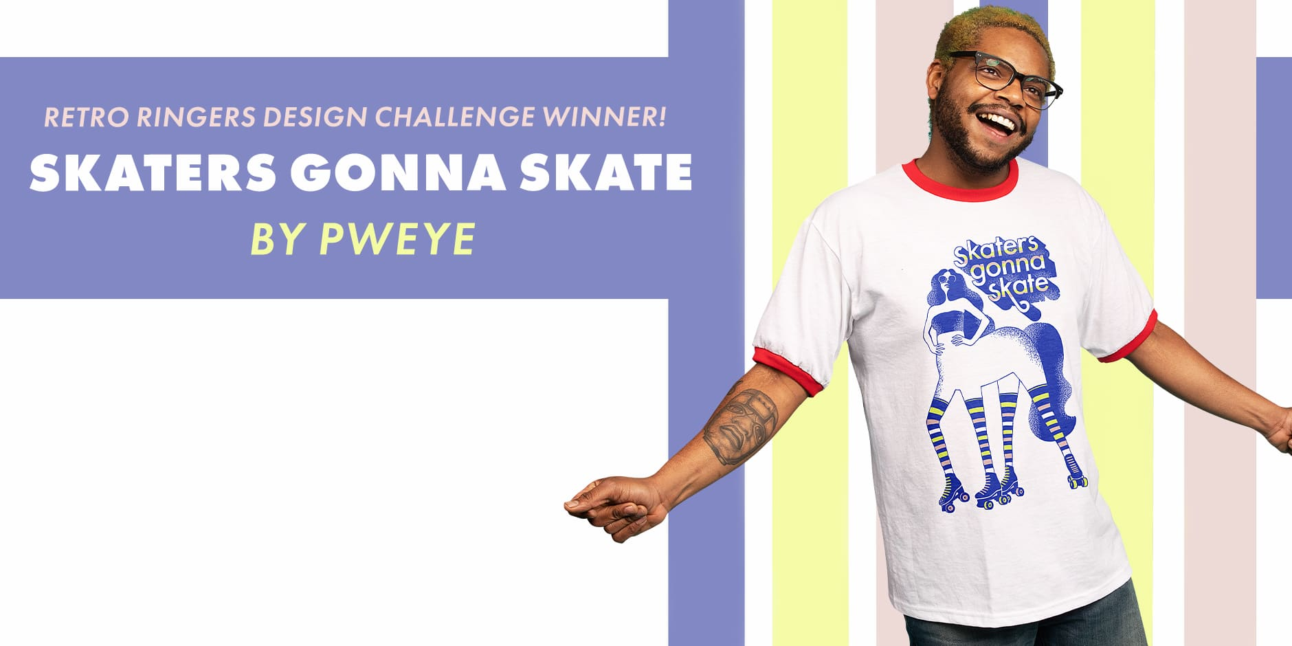 Featured Design: Skaters Gonna Skate by Pweye