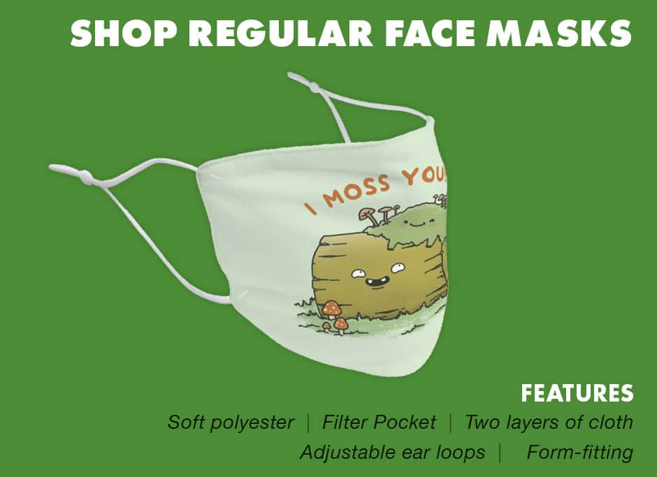 Shop Regular Face Masks at Threadless
