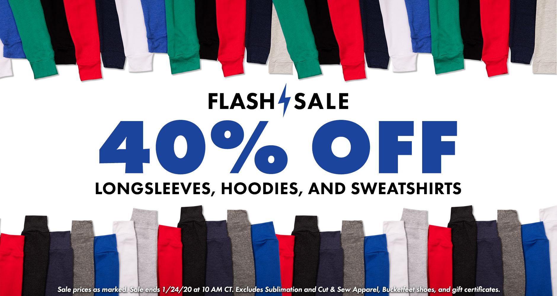 Shop the Threadless Flash Sale 40% off Hoodies, Sweatshirts and Long Sleeves