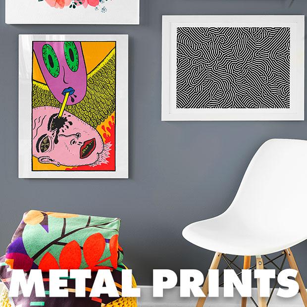 Shop Metal Prints