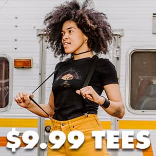 Shop $9.99 Women's Tees!