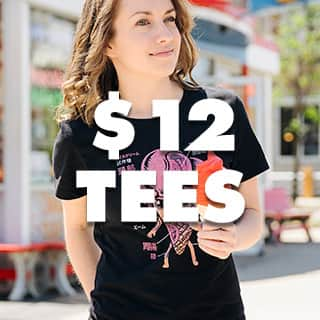 All women's tees $12!!!
