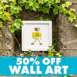 Shop Wall Art 50% off!