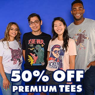 Shop 50% off Premium Tees