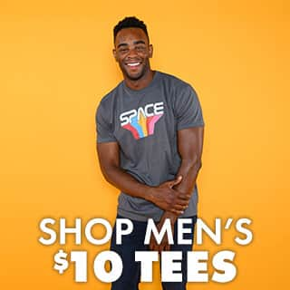 Shop $10 Men's Tees