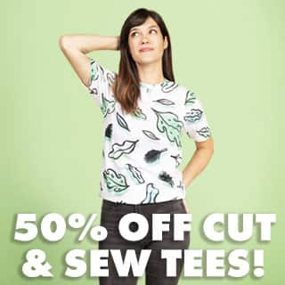 Shop Women's Cut & Sew Tees 50% Off