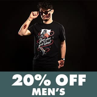 Shop Men's Horror Tees
