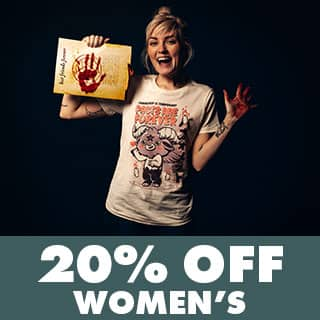Shop Women's Horror Tees