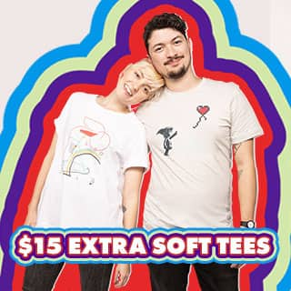 Shop $15 Extra Soft Tees