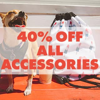 40% off all accessories