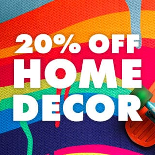 20% off all home decor