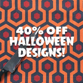 All Halloween Designs 40% Off!