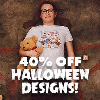 Halloween Designs are 40% off!