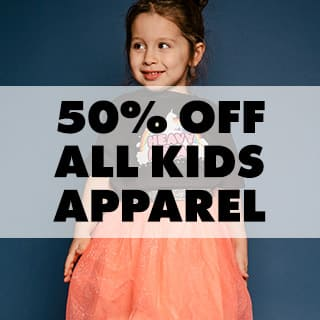 50% off All Kids Apparel