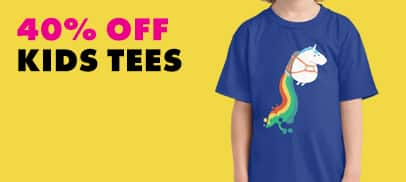 40% Off Kid's Tees
