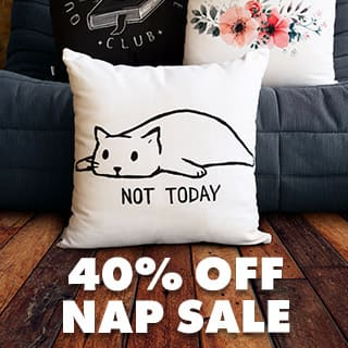 Nap Sale! 40% off Nap Stuff!