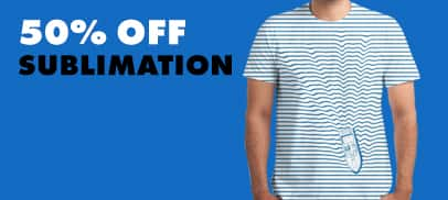 50% Off Sublimation