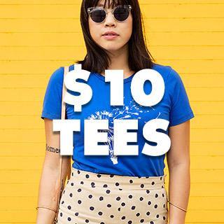 $10 TEES!