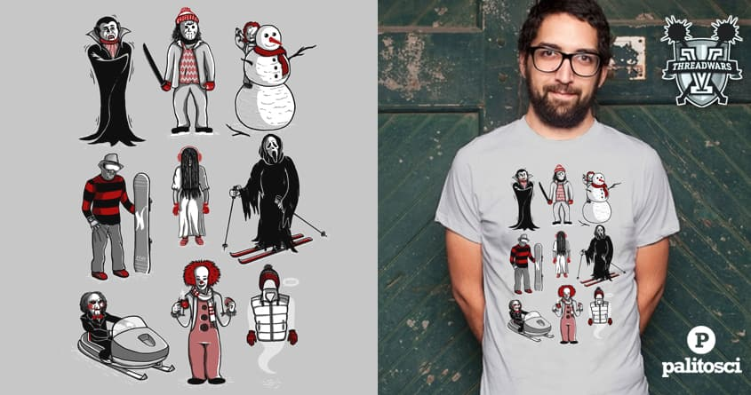 Horror lives winter by palitosci on Threadless