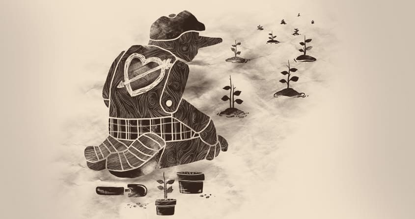 Giving Back by tobiasfonseca on Threadless