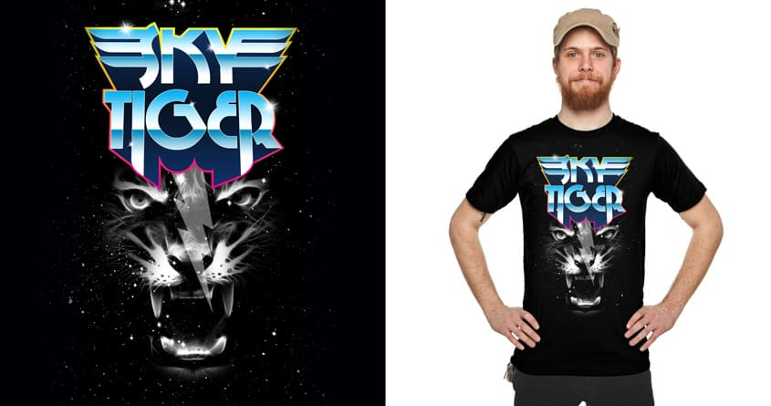 Sky Tiger by Joe Conde on Threadless
