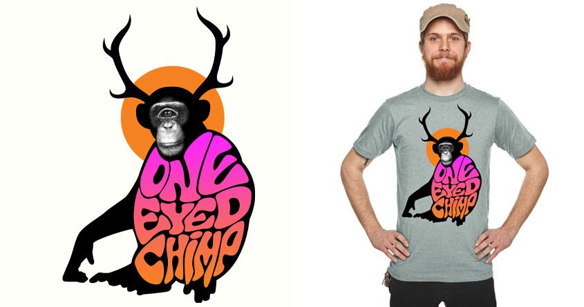 One Eyed Chimp by Joe Conde on Threadless