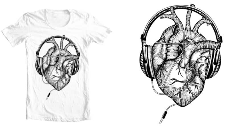 passion for music by beboproject on Threadless