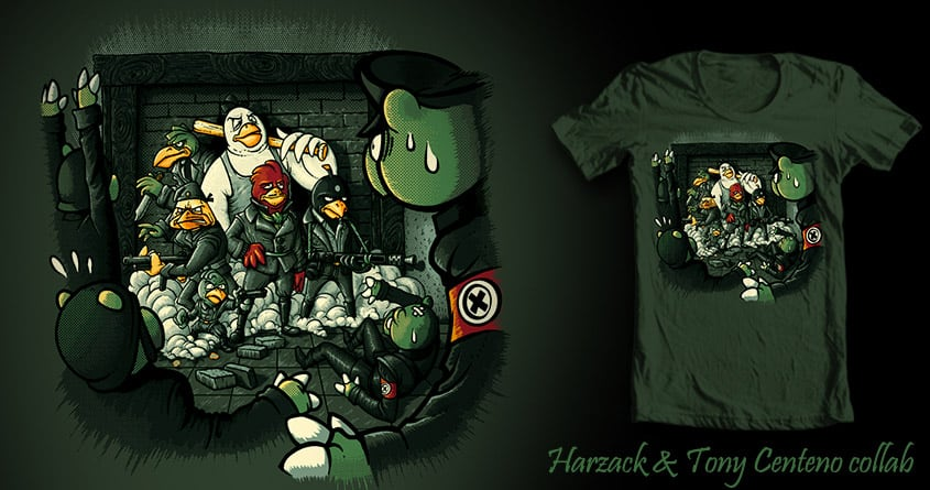 Angry Basterds by Tony Centeno and Harzack on Threadless