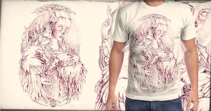 Pearls to Crowes by tolagunestro on Threadless