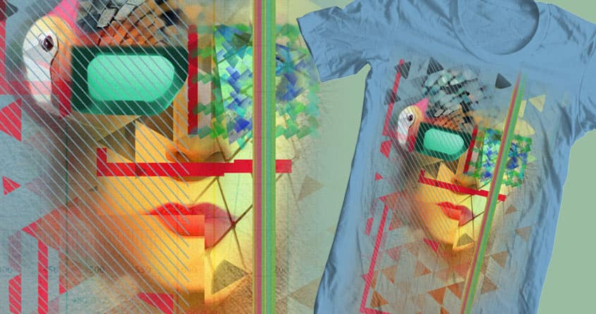Warped Vision  by Yeaaa on Threadless
